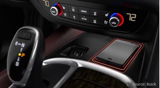 Buick wireless charging - Aircharge