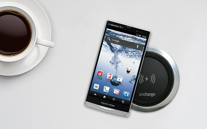 Sharp Wireless Charging - Aircharge