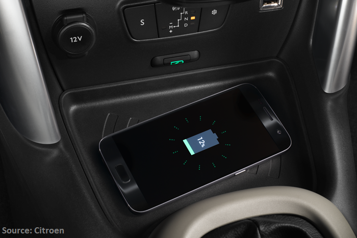Citroen wireless charging - Aircharge