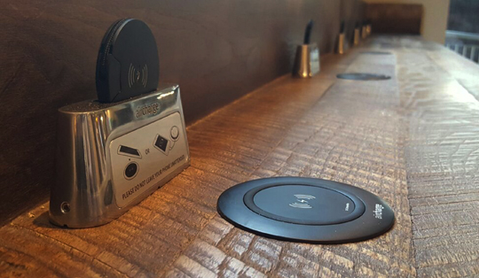 wireless charging in public venues
