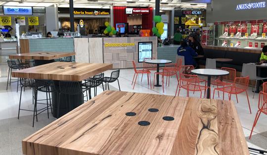 wireless charging for restaurants