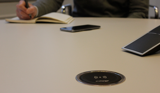 wireless charging solutions for modern offices