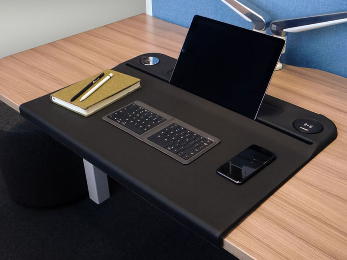 Wireless Charging Desk Mat Aircharge