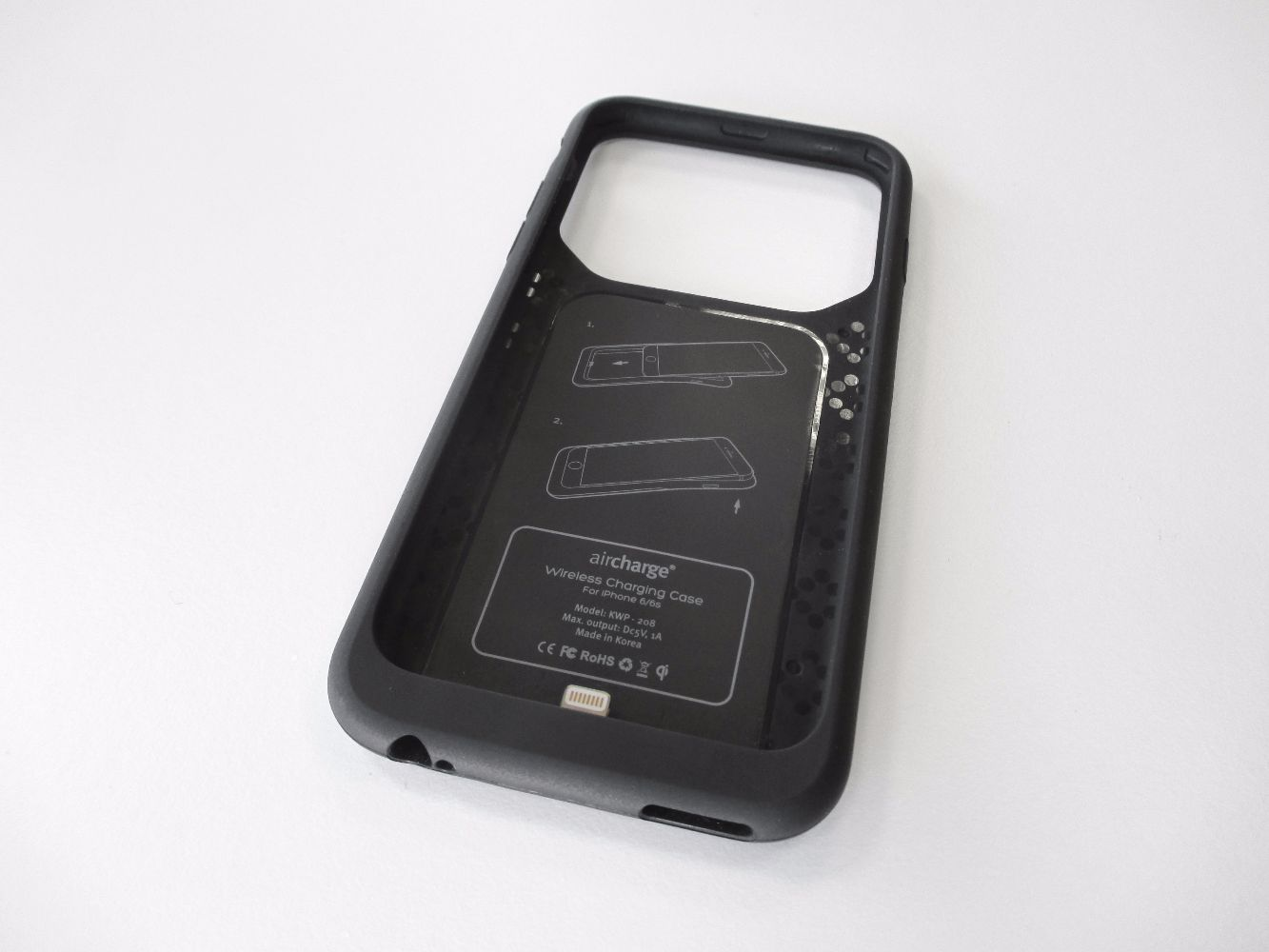 brand new 147d7 ecdf7 Wireless Charging Case for the iPhone 6/6S case - Aircharge