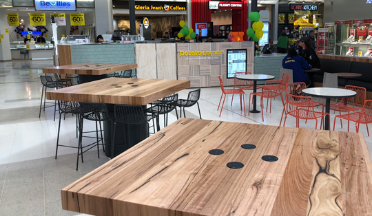 free wireless charging in shops