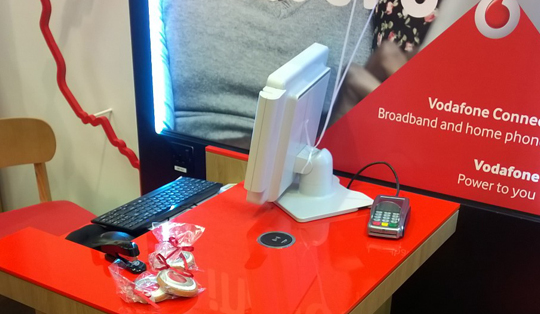 wireless charging in Vodafone