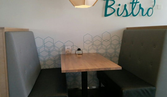 wireless charging for bistros