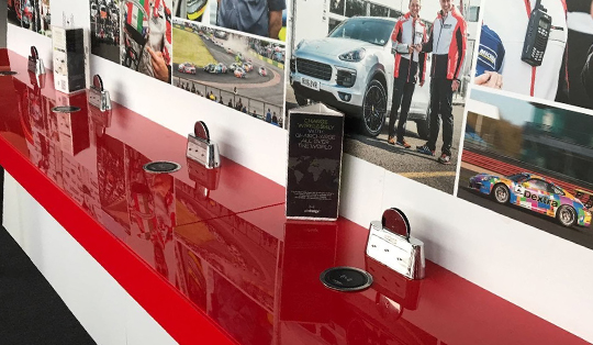 wireless charging for sport venues