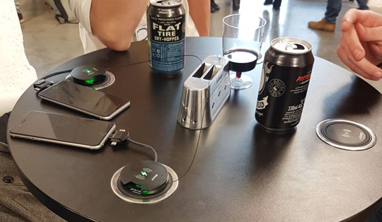 wireless charging for sport arenas