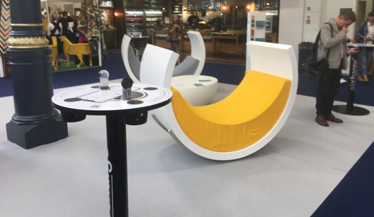 smart wireless charging for conference centres