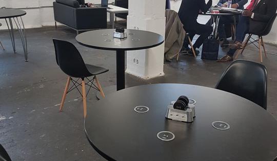 wireless charging for festival venues