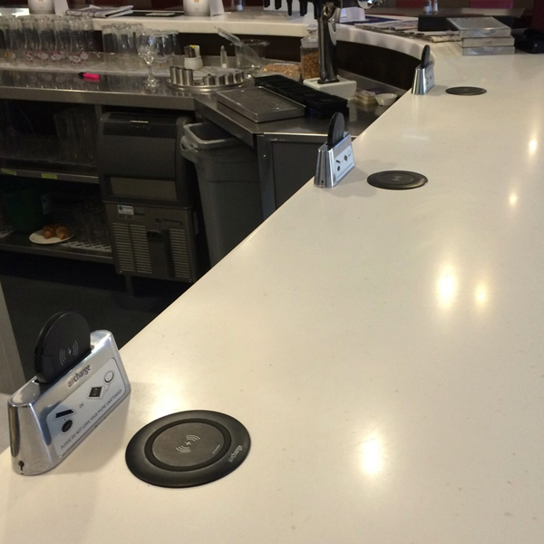 Wireless charging for stadiums