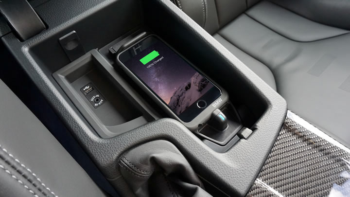 half off c1d0c accbe BMW wireless charging - Aircharge