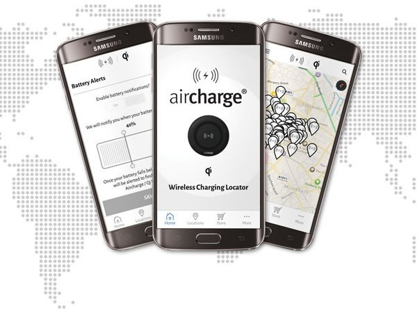 Charger Locator App - Aircharge