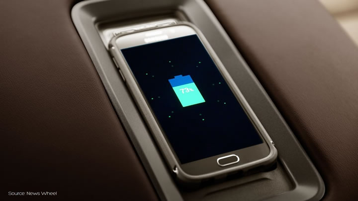 Chevrolet wireless charging - Aircharge