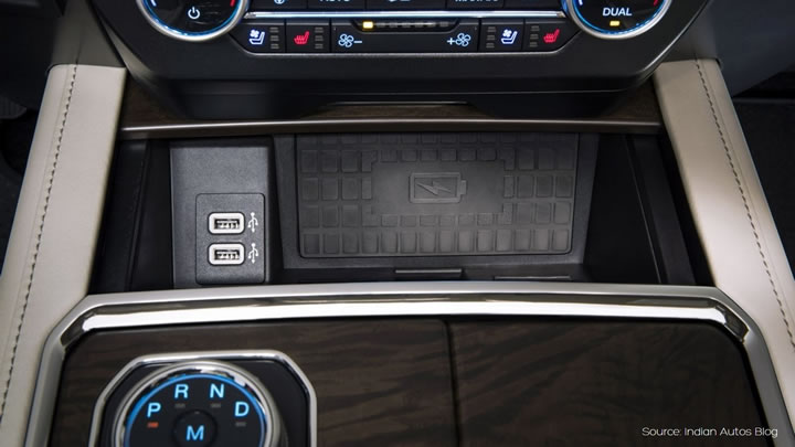 Ford wireless charging - Aircharge