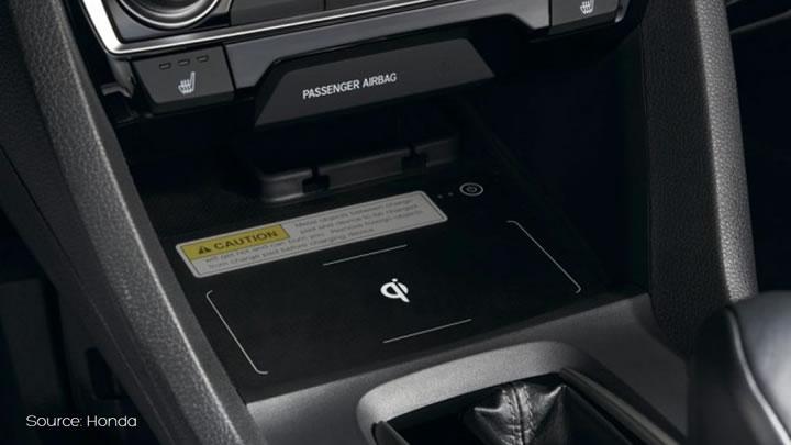 Honda Wireless Charging
