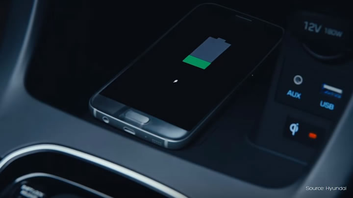 Hyundai wireless charging - Aircharge