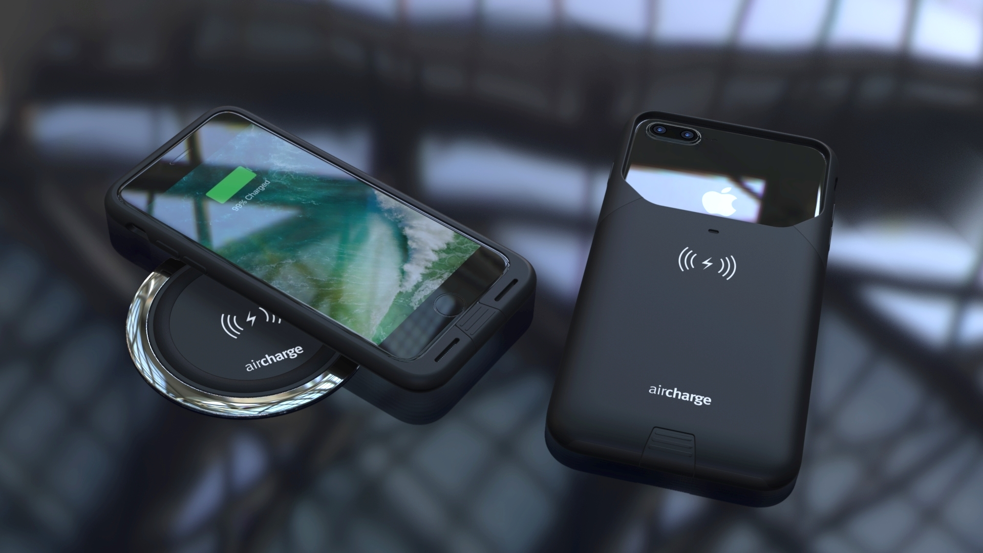 wireless charging with the iPhone 7