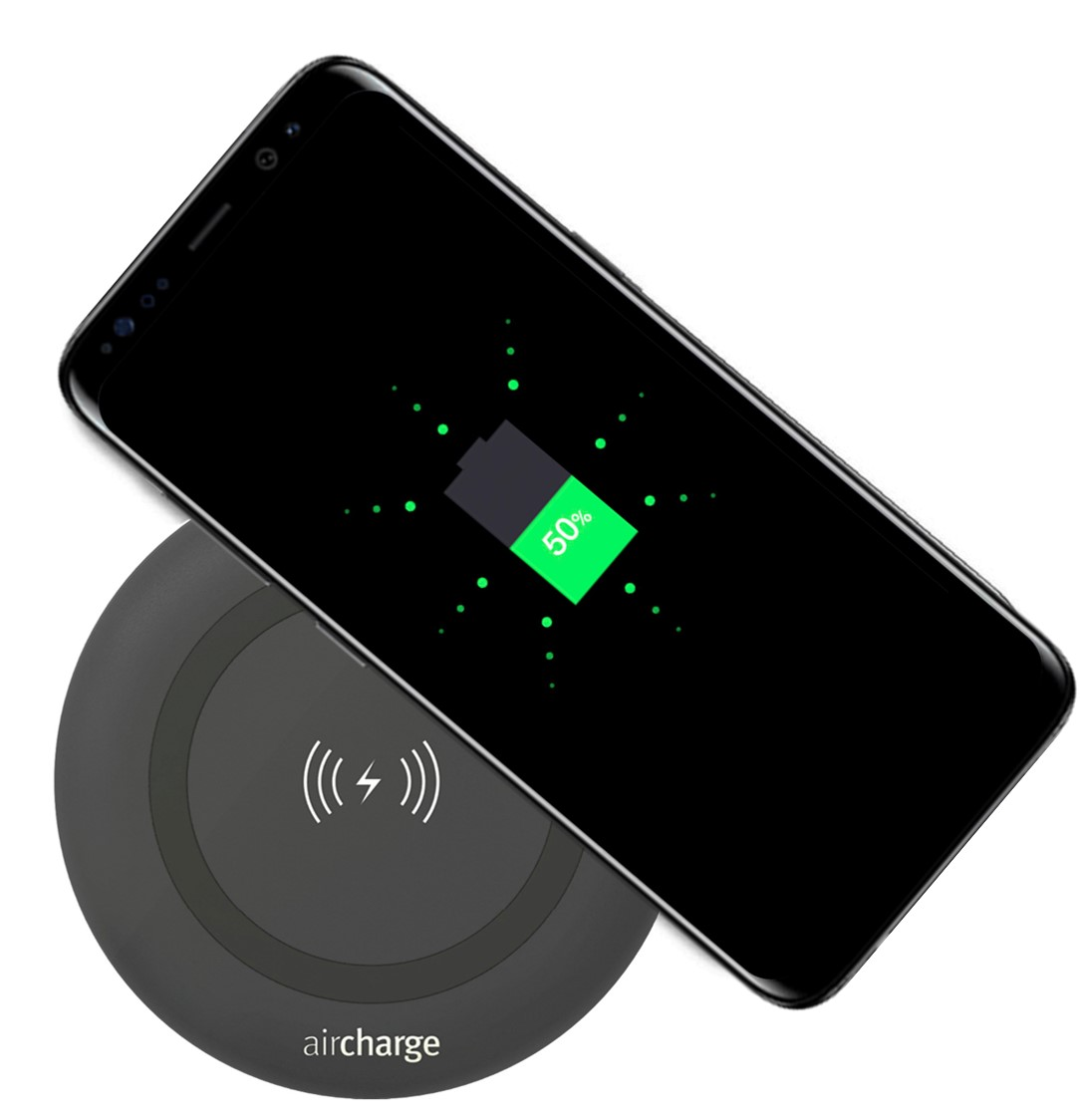 aircharge samsung galaxy s8 and s8 plus feature qi. Black Bedroom Furniture Sets. Home Design Ideas